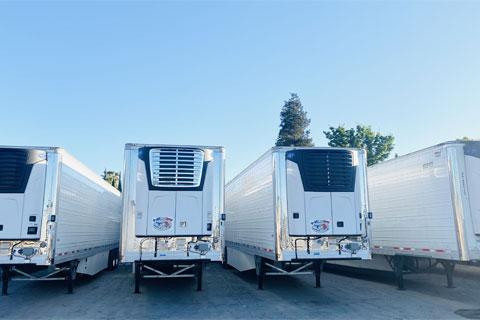 Drop Trailers Yard Hosting Ceres, CA